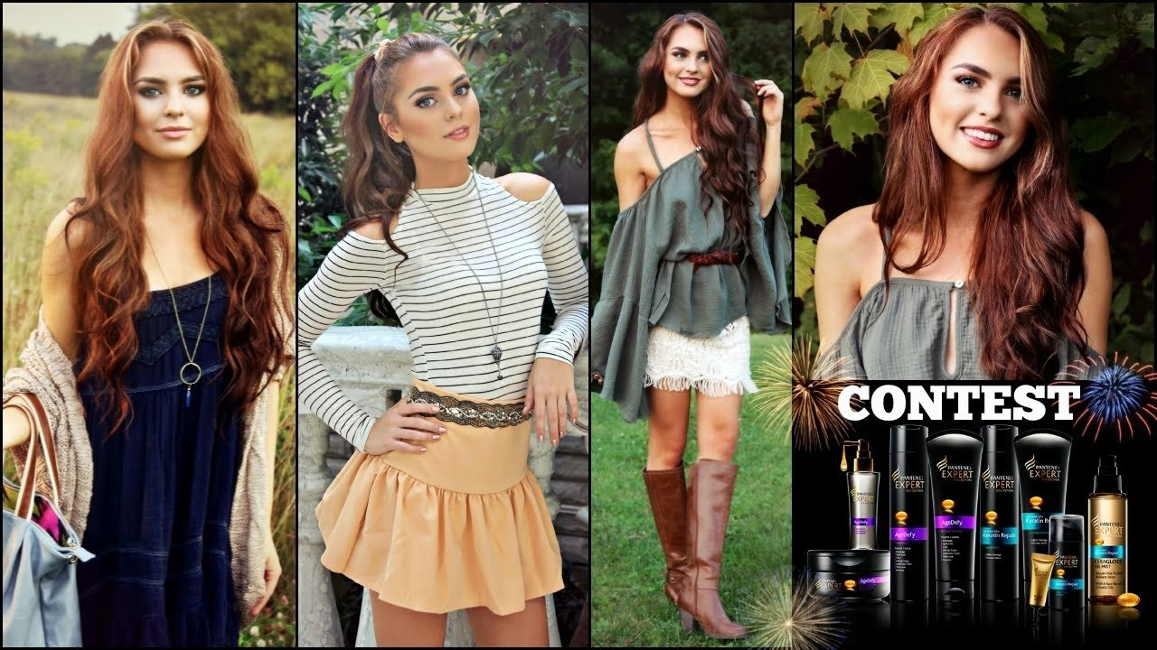10 Most Recommended Fall Photo Shoot Outfit Ideas my into fall photoshoot looks makeup hair outfits pantene 2020