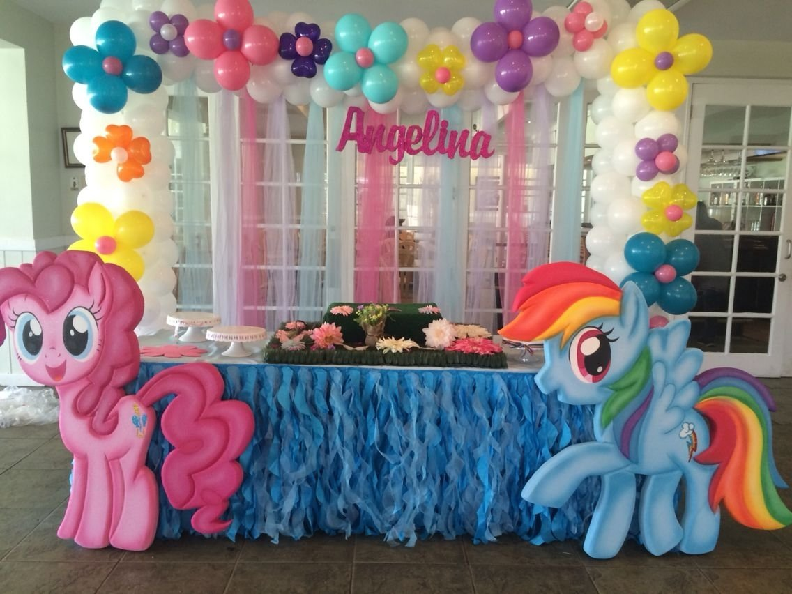 my little pony birthday decoration | party decoration ideas