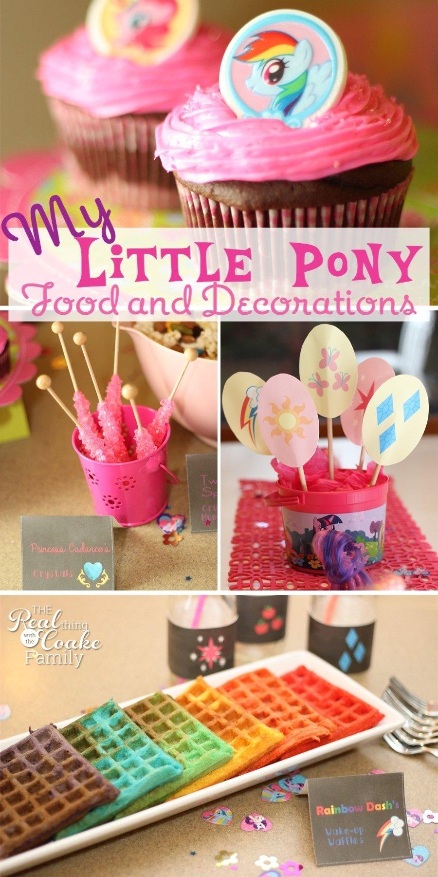 10 Pretty My Little Pony Birthday Party Ideas my little pony birthday party food and decorating ideas 3 2021