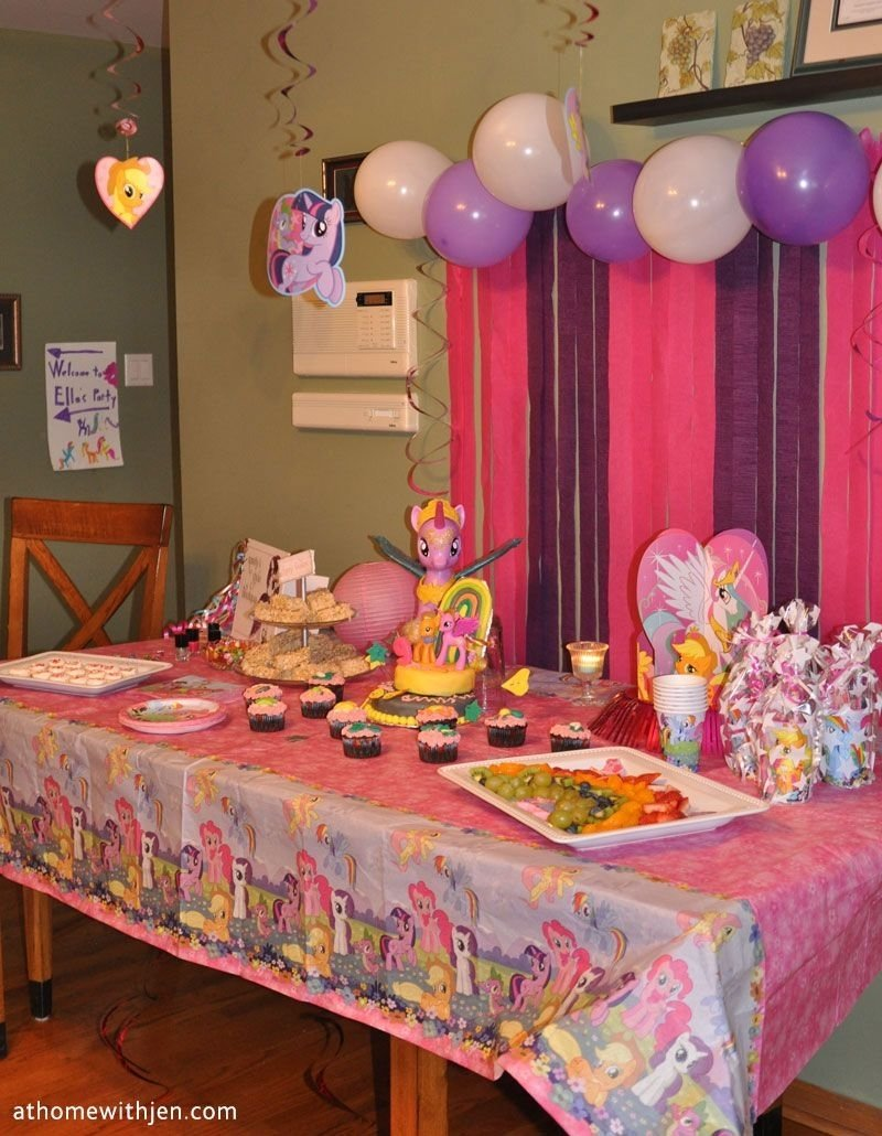 10 Pretty My Little Pony Birthday Party Ideas my little pony birthday party ideas for a home party and free 2021