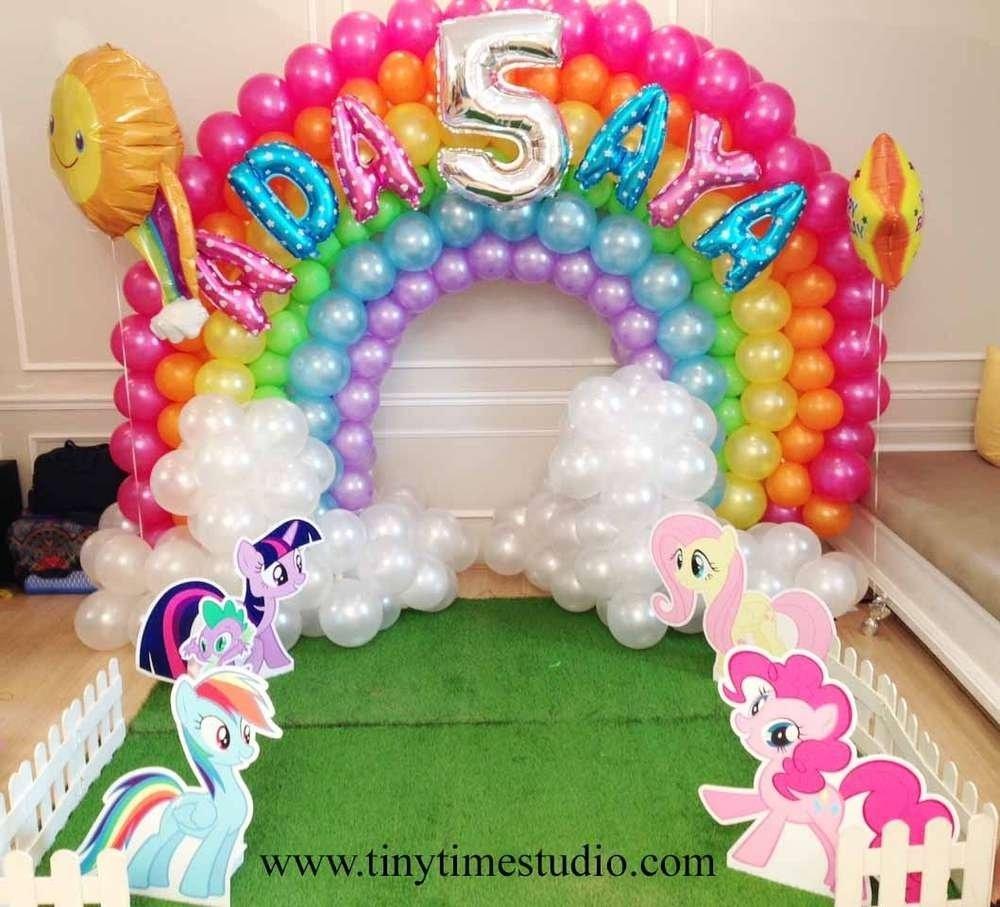 10 Pretty My Little Pony Birthday Party Ideas my little pony birthday party ideas pony arch and birthdays 1 2021
