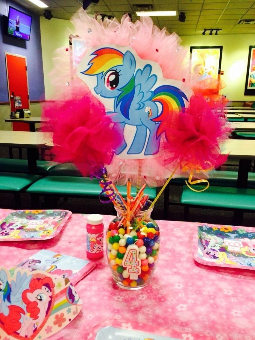 10 Stylish My Little Pony Party Ideas my little pony centerpiece mlp party pinterest pony 1