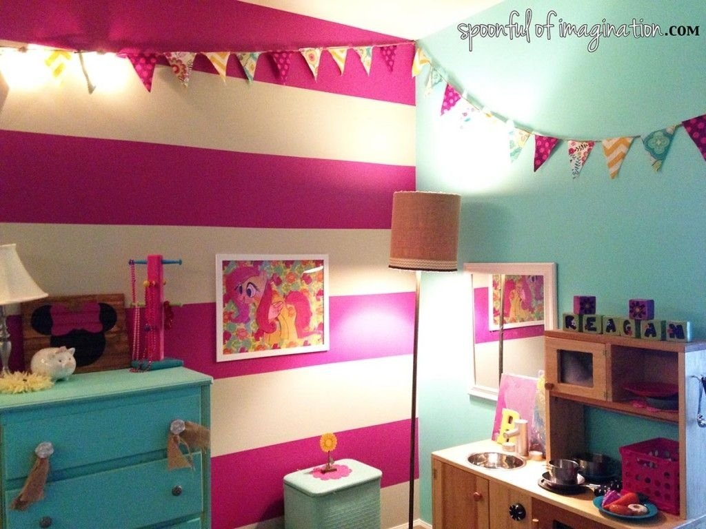 my little pony {craft | pony, fans and bedrooms