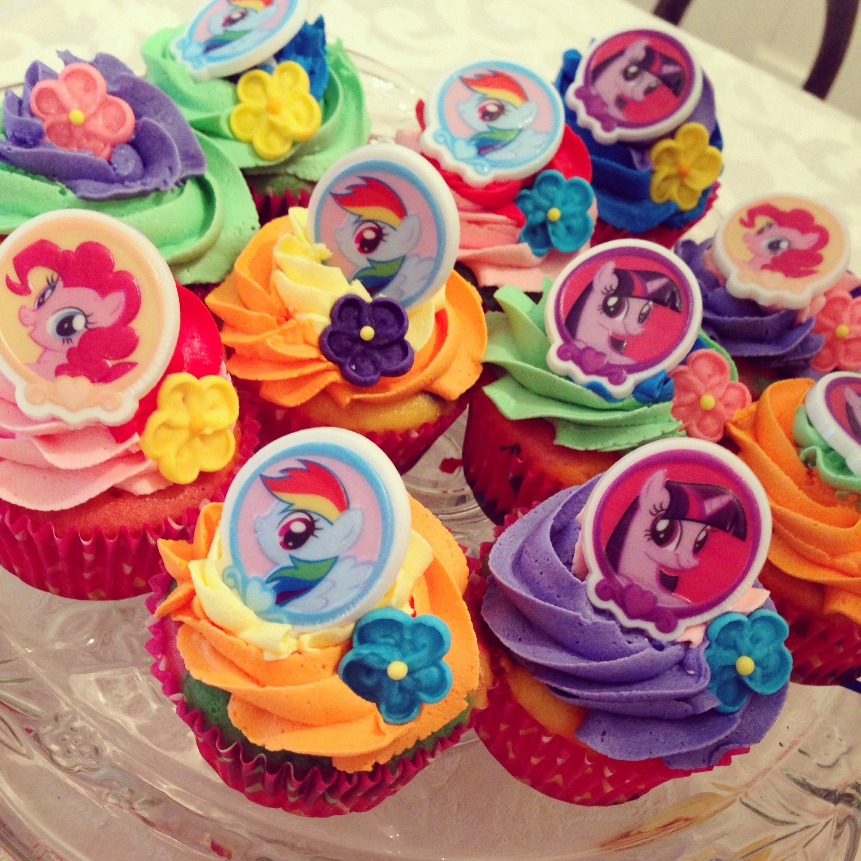 my little pony cupcakes | audrey birthday | pinterest | pony