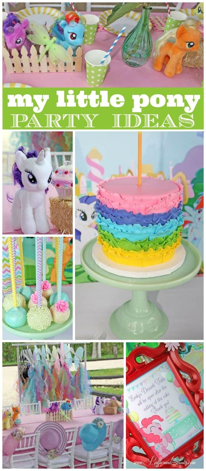 10 Stylish My Little Pony Friendship Is Magic Birthday Party Ideas my little pony friendship is magic birthday emilys my little 2020