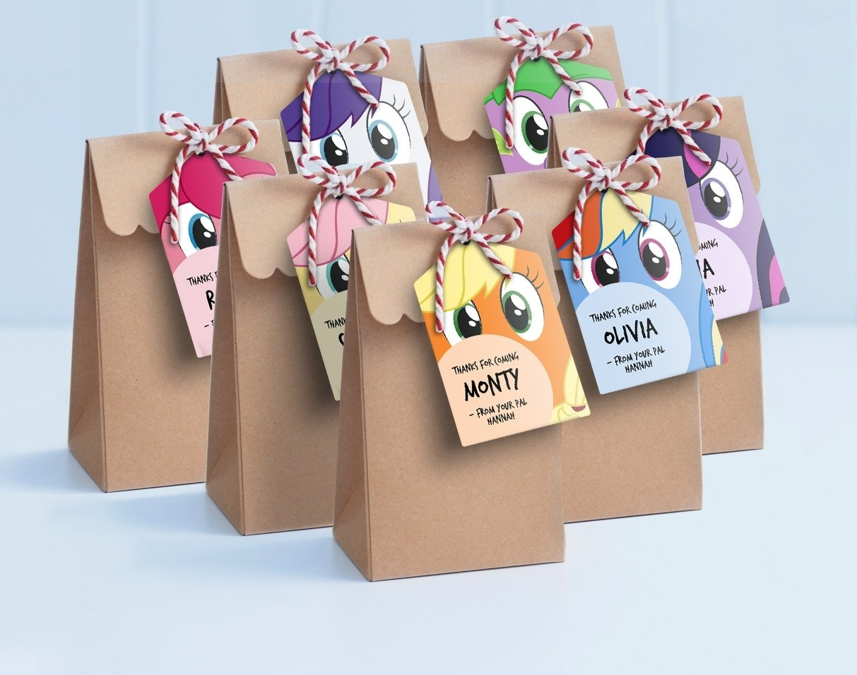 10 Gorgeous My Little Pony Gift Ideas my little pony goodie bags for boys buscar con google projects
