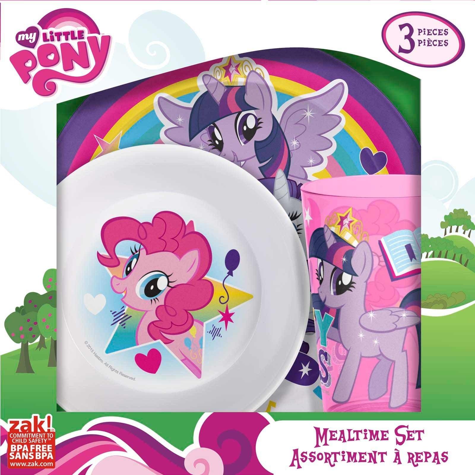 10 Gorgeous My Little Pony Gift Ideas my little pony kids dinnerware set for sale tv series zak zak