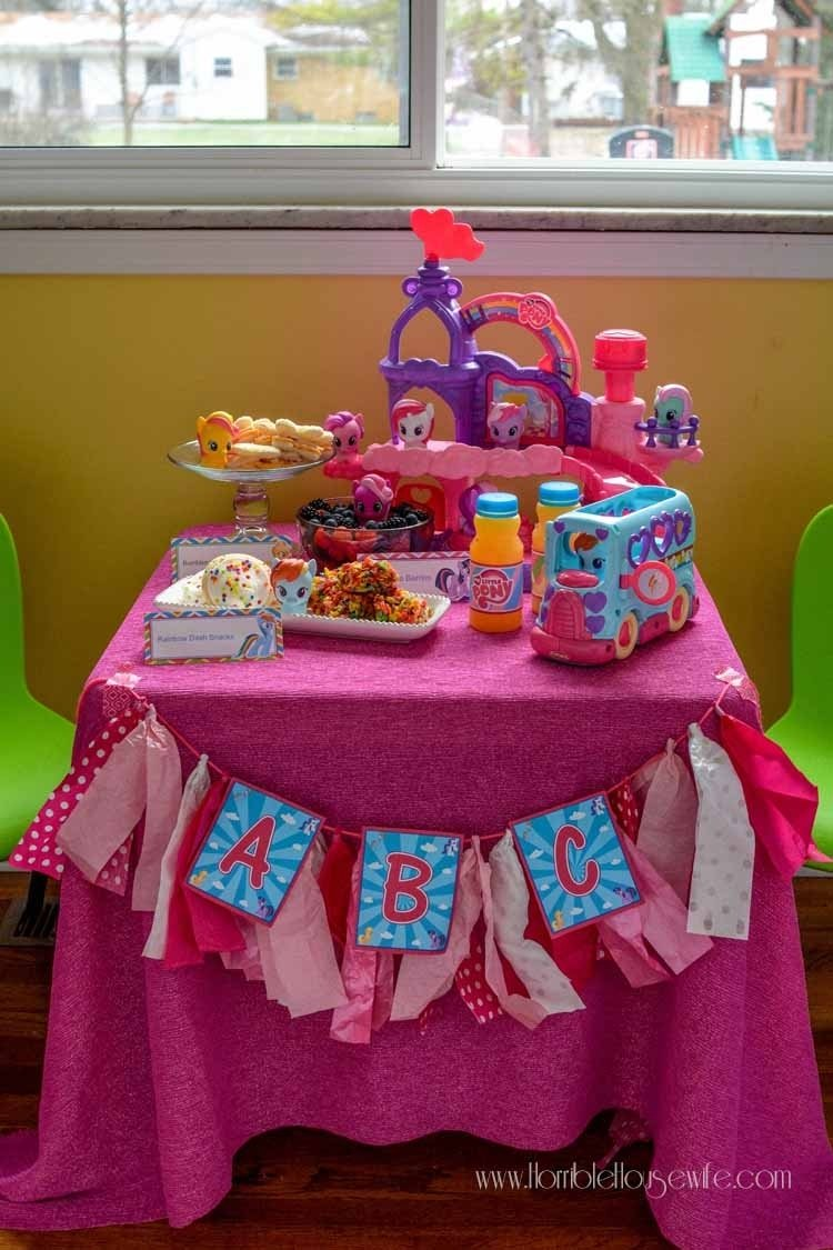 10 Pretty My Little Pony Birthday Party Ideas my little pony playdate horrible housewife 2021