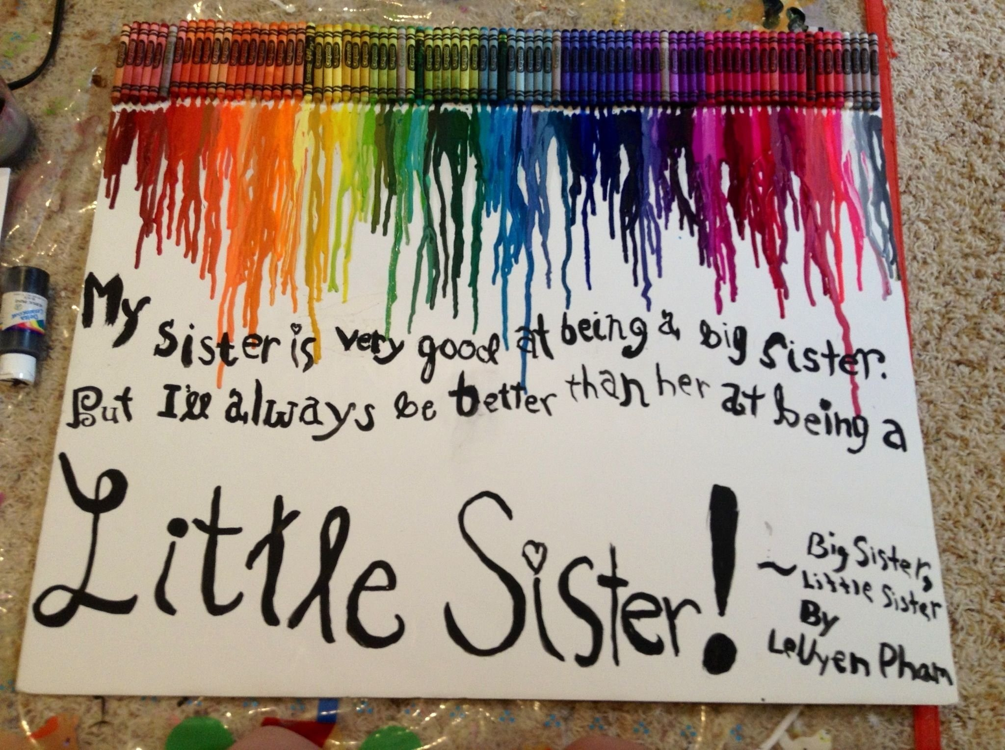10 Most Popular Birthday Present Ideas For Sister my little sisters eighth birthday present made it myself diyfun 2020