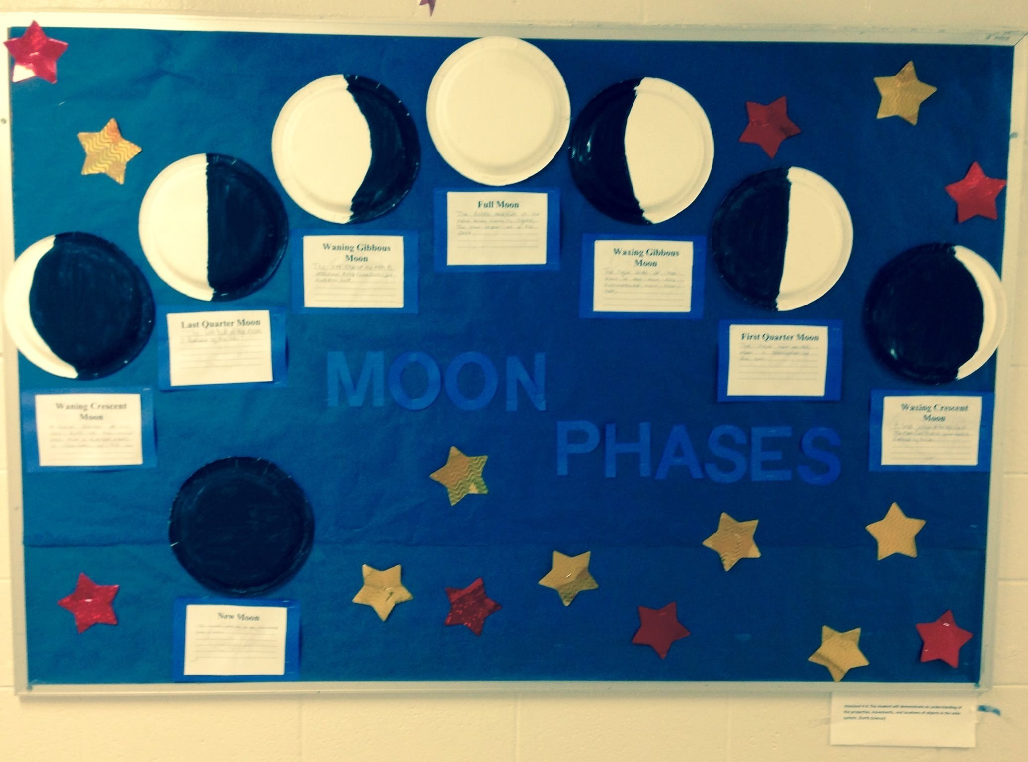 10 Attractive Phases Of The Moon Project Ideas my moon phases bulletin board diy pinterest moon phases 2020
