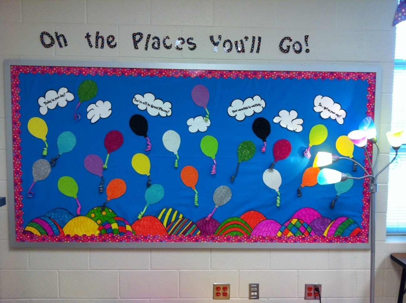 10 Lovable Oh The Places You Ll Go Bulletin Board Ideas my new classroom at hudson pep hillarys teaching adventures