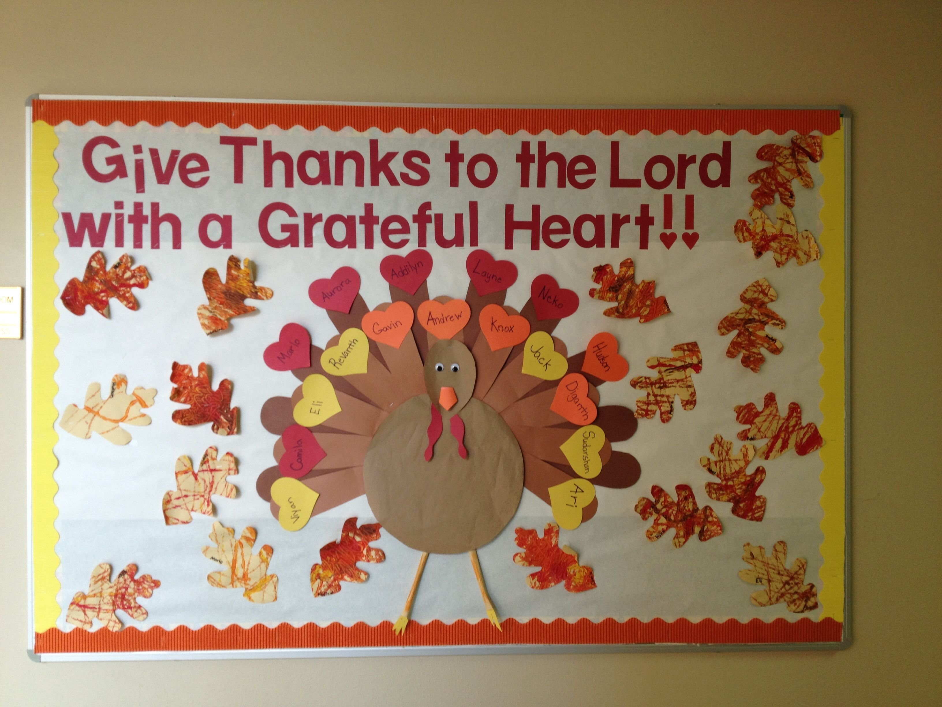 10 Nice Bulletin Board Ideas For Thanksgiving my november bulletin board bulletin board pinterest november 1