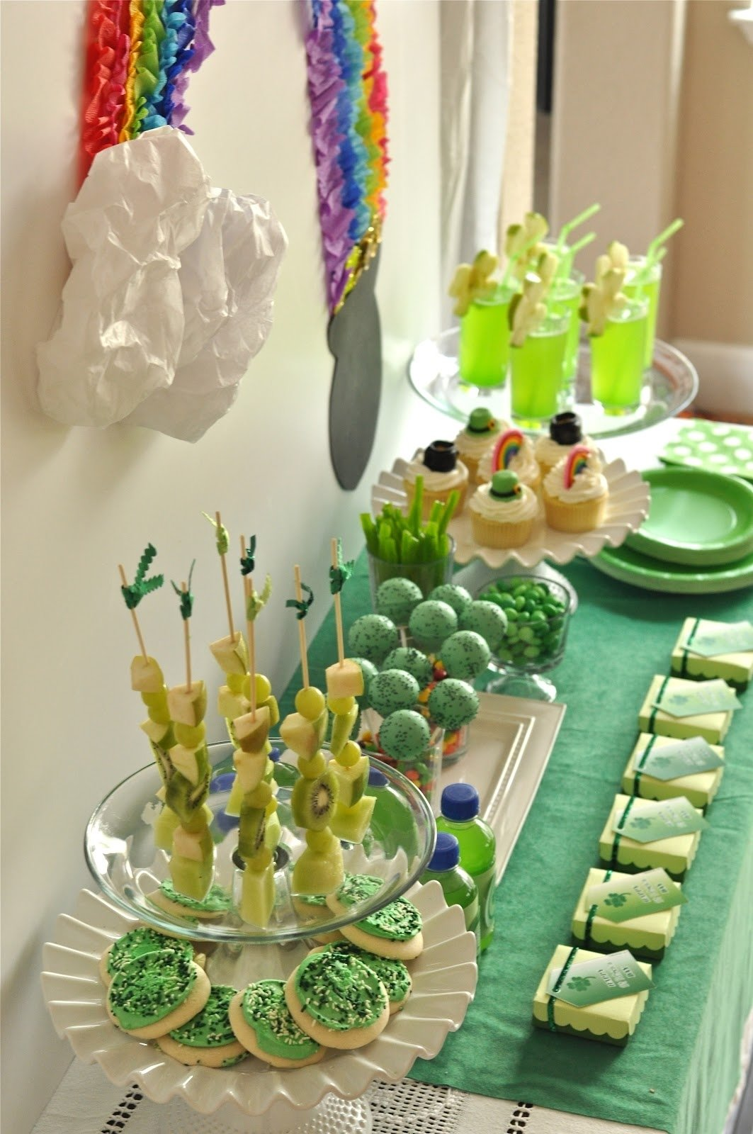 10 Lovable St Patrick Day Party Ideas my parties st patricks day party creative juice 1 2020