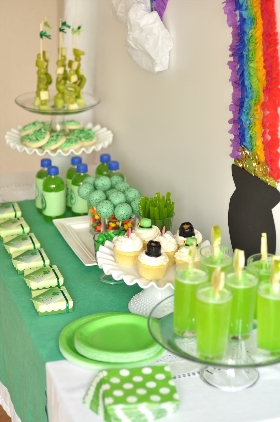 my parties} st patricks day party - creative juice