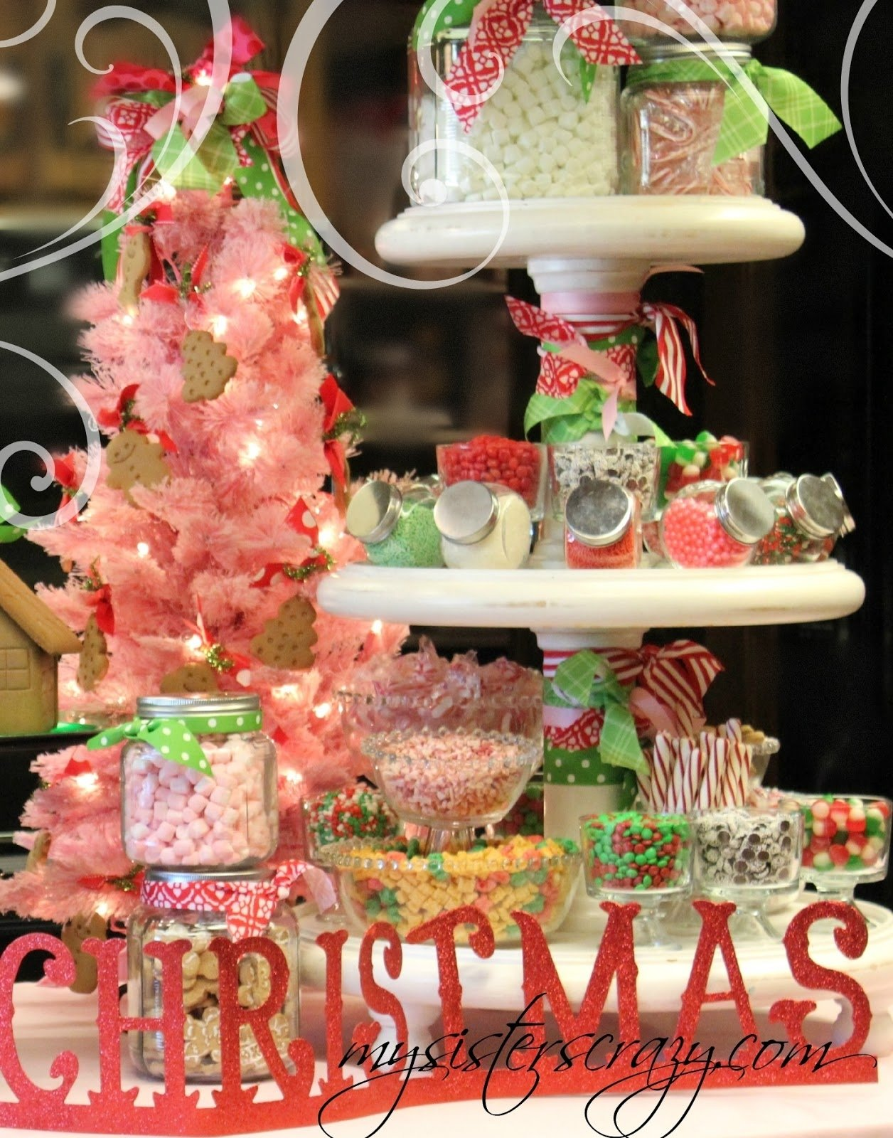 10 Fashionable Gingerbread House Decorating Party Ideas my sisters crazy gingerbread house and cookie decorating party 2020