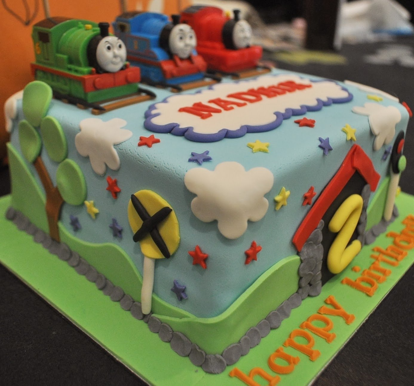10 Nice Thomas And Friends Cake Ideas my son would love this kids pinterest sons friends cake and