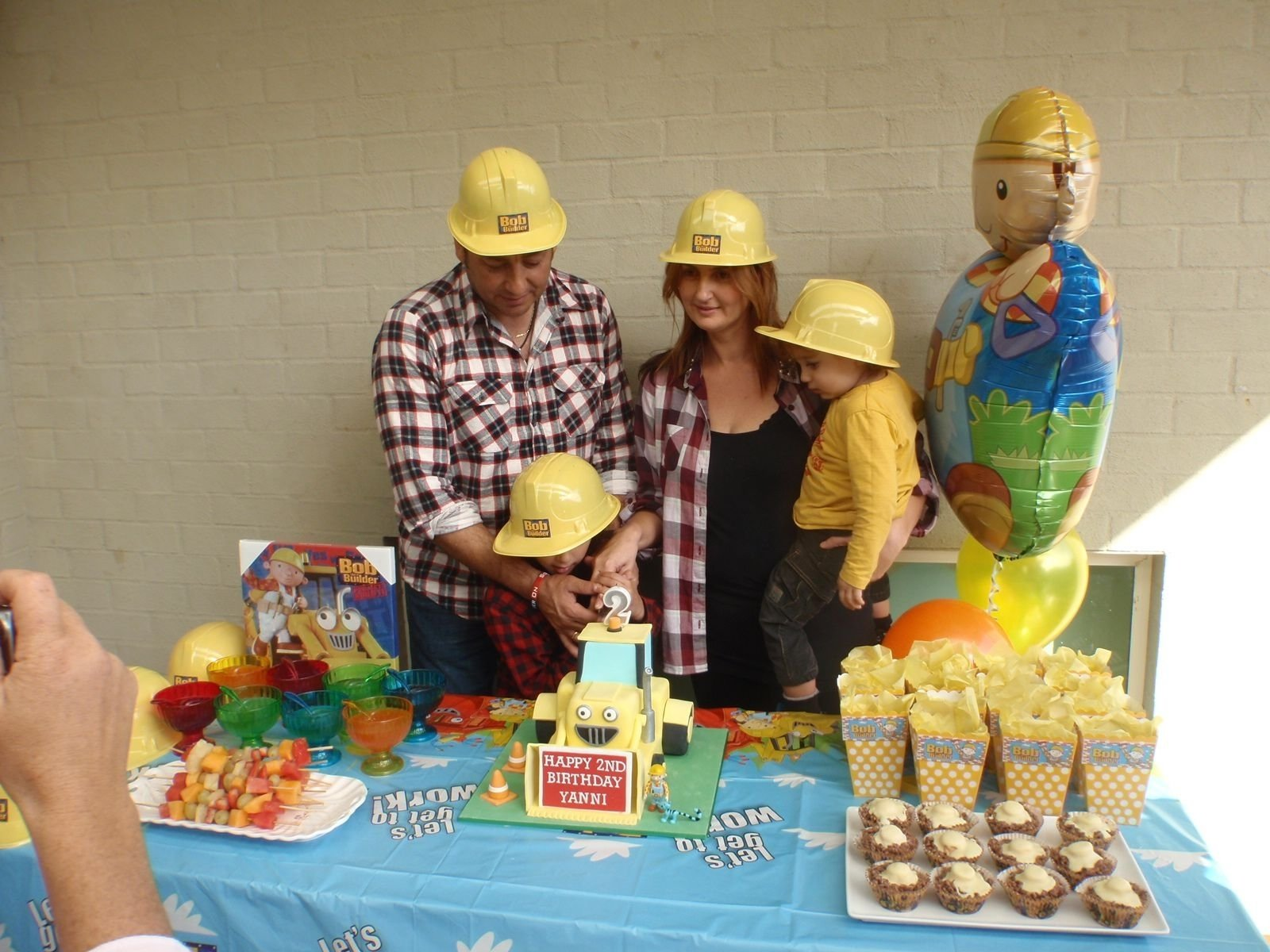 10 Attractive Bob The Builder Party Ideas my sons 2nd bob the builder birthday party birthday party ideas 2021