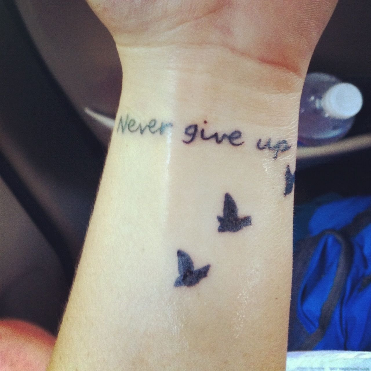 10 Elegant Never Give Up Tattoo Ideas my tattoo never give up tattoo pinterest tattoo tatting 2020