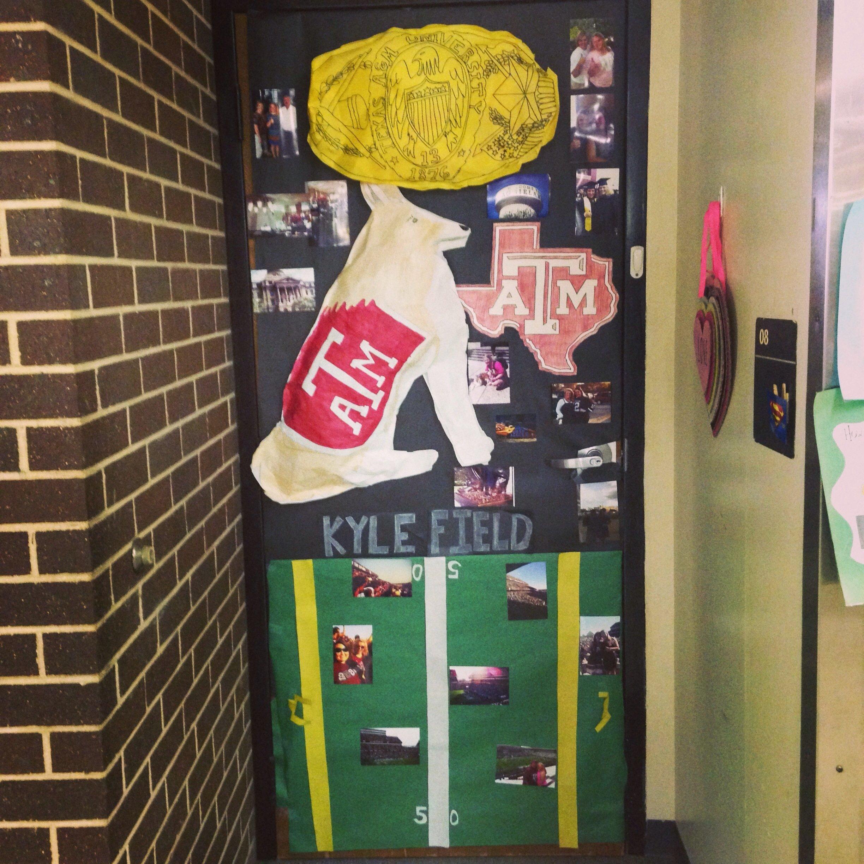 10 Best Door Decorating Ideas For School my texas am door i did for gentx week gigem door decorations 2021
