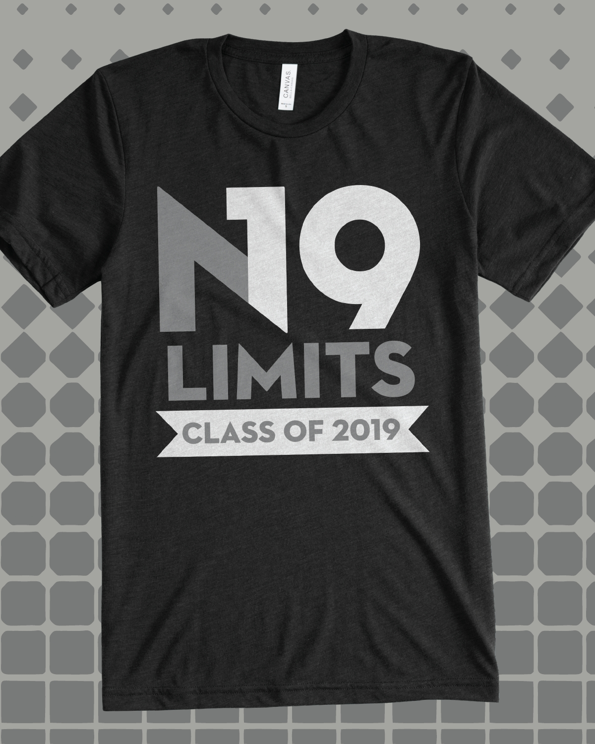 n19 limits class of 2019 class shirt - design idea for custom shirt