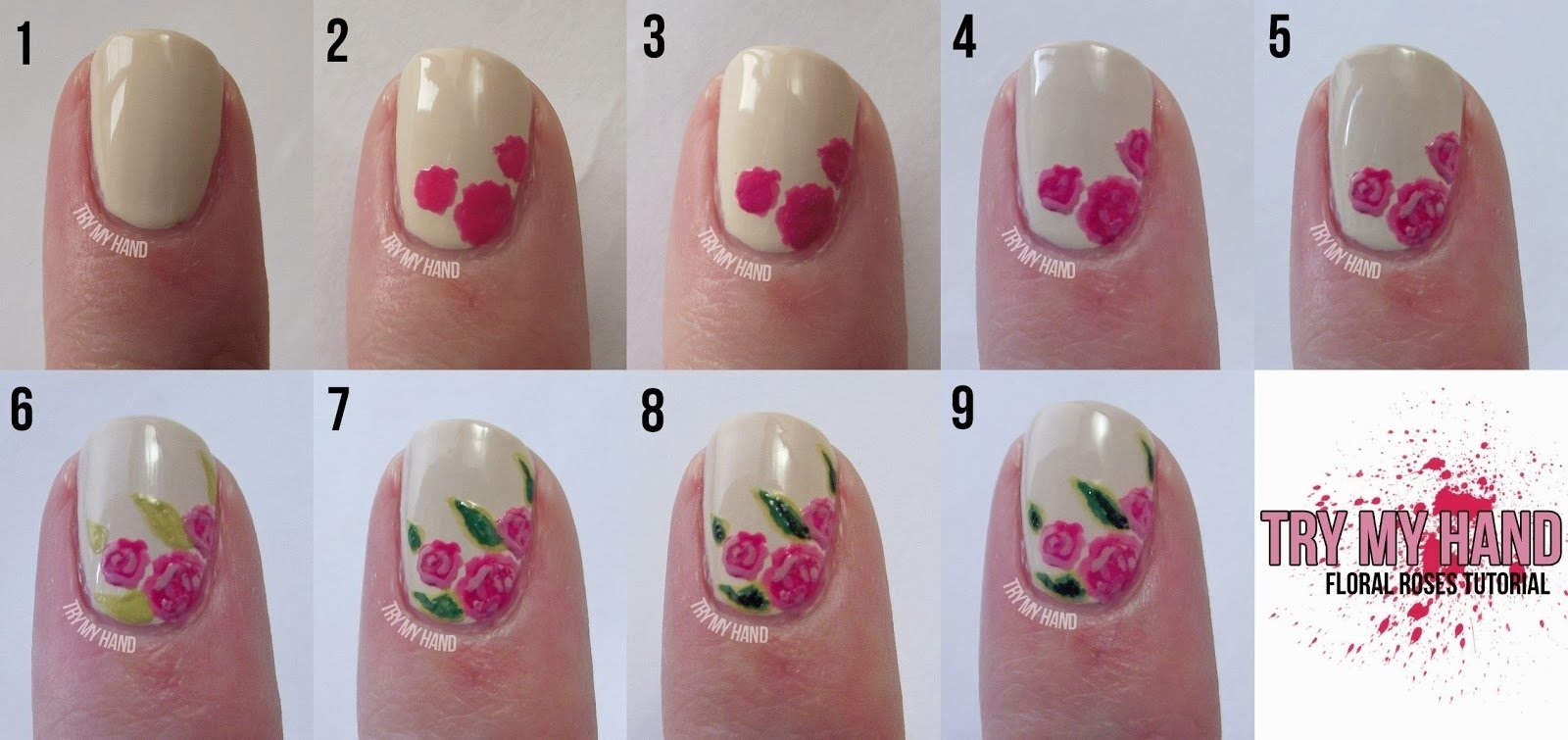 10 Fantastic Nail Art Ideas Easy Step By Step nail art ideas for beginners stepstep nail art stepstep 1 2021