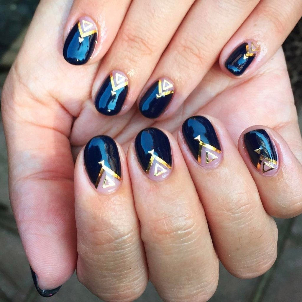 10 Nice Nail Design Ideas For Short Nails nail art ideas for short nails popsugar beauty uk 2