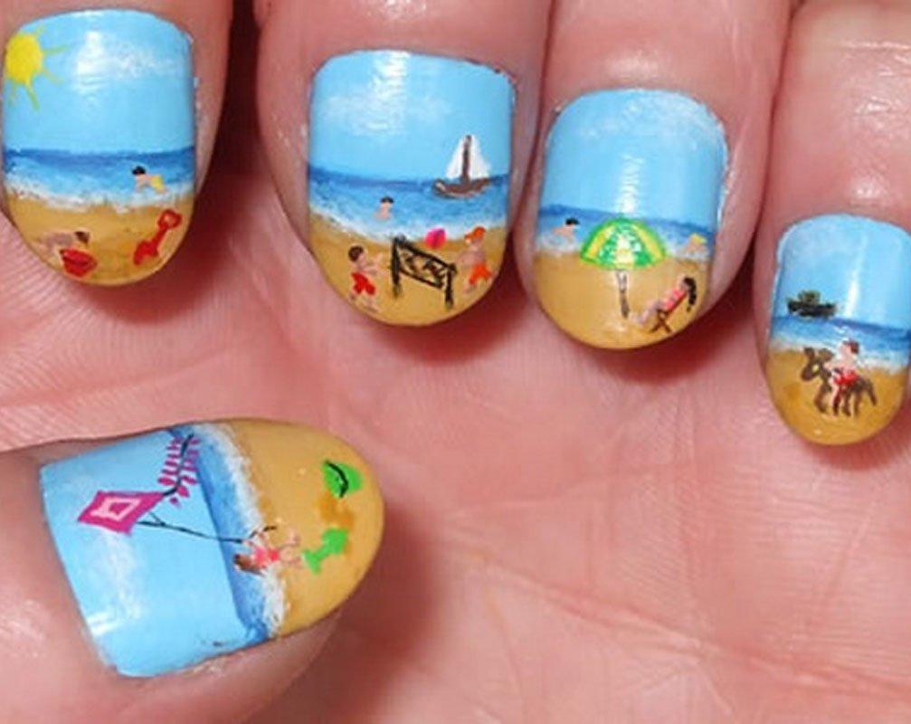 10 Spectacular Nail Polish Ideas For Summer