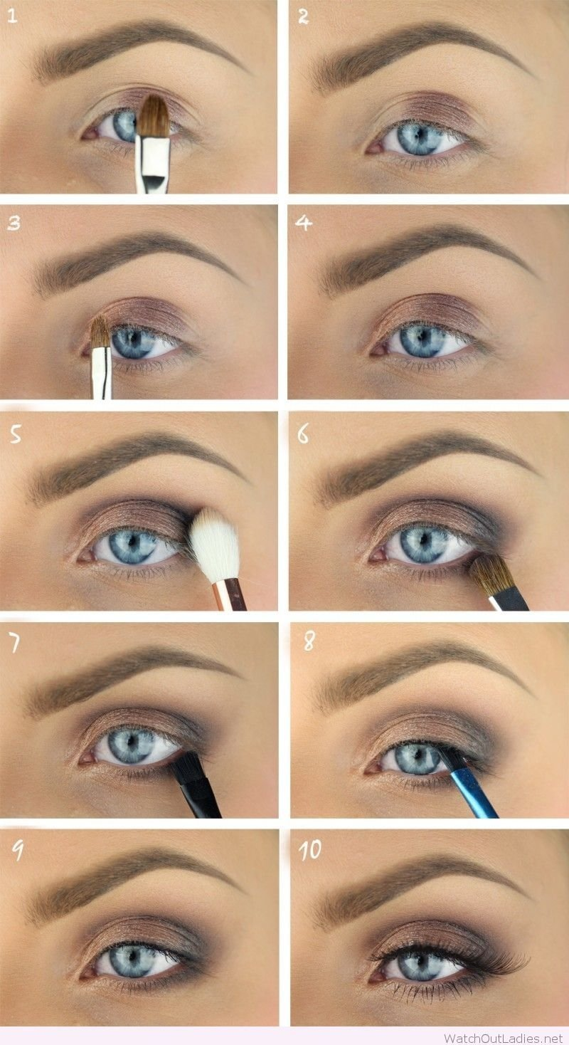Homecoming Makeup Tutorial For Blue Eyes Lajoshrich