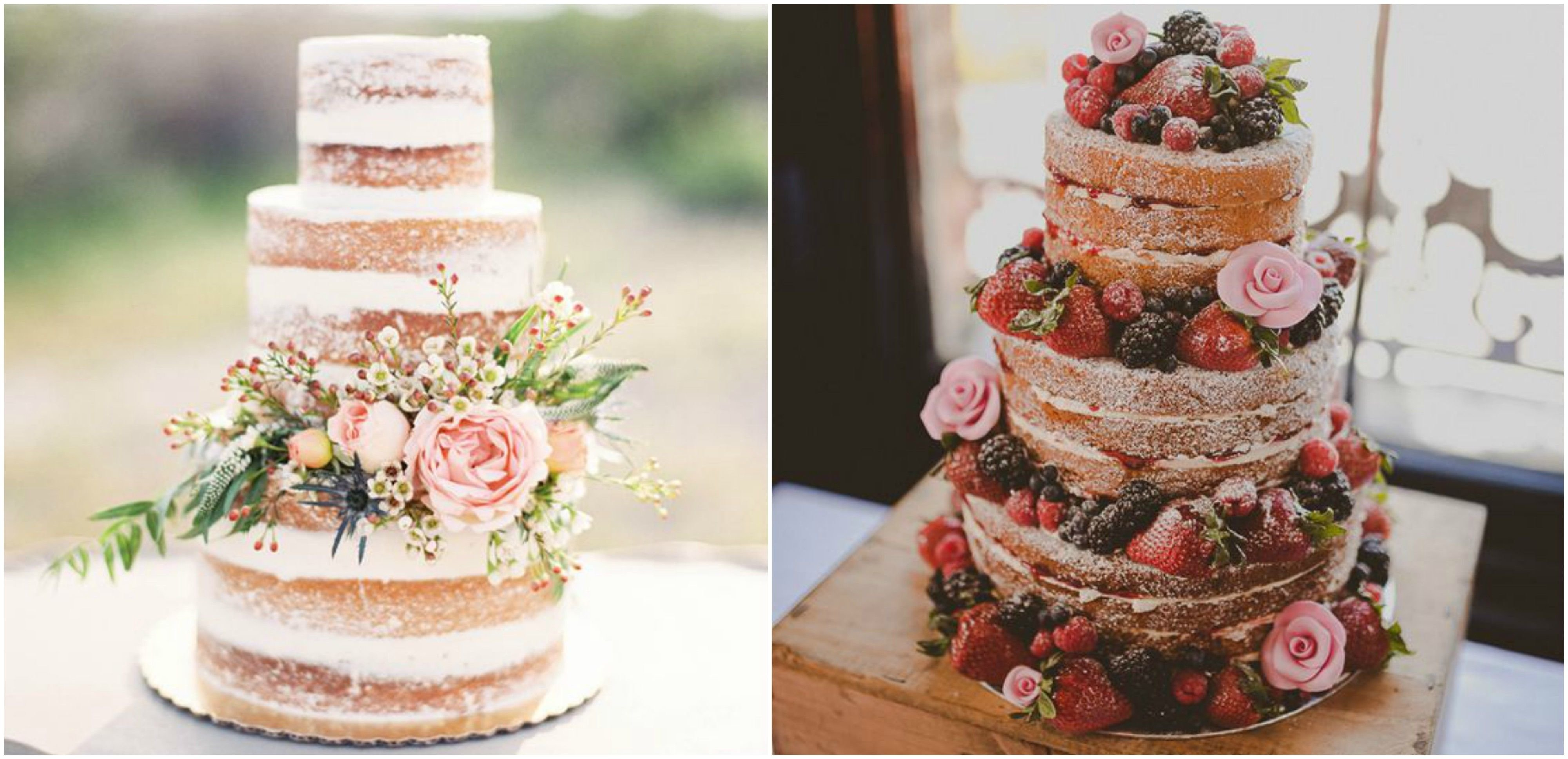 10 Awesome Wedding Cake Ideas For Summer naked cake naked cakes pinterest summer wedding cakes wedding 2020
