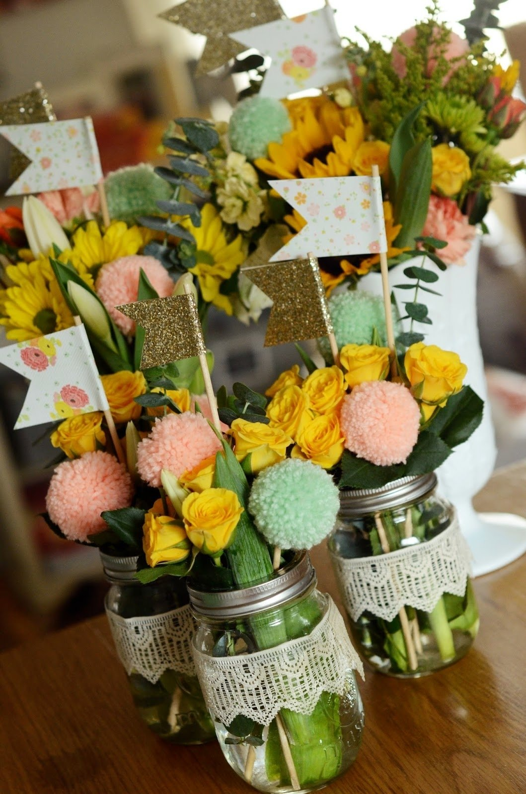 10 Attractive 50Th Birthday Party Ideas For Mom Natalie Creates My Moms 50th 1