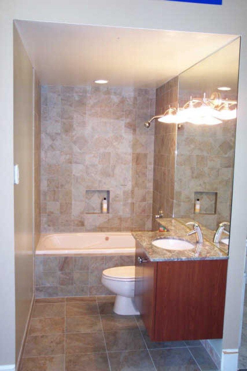 10 Amazing Bathtub Ideas For A Small Bathroom natural small bath ideas decobizz 2020