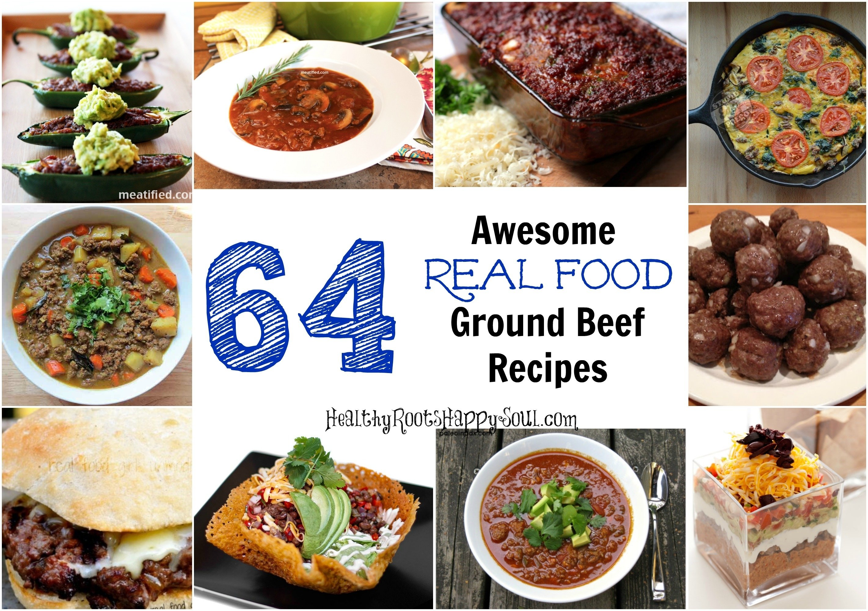 10 Famous Dinner Ideas With Ground Beef naturally loriel 64 awesome real food ground beef recipes 2 2021
