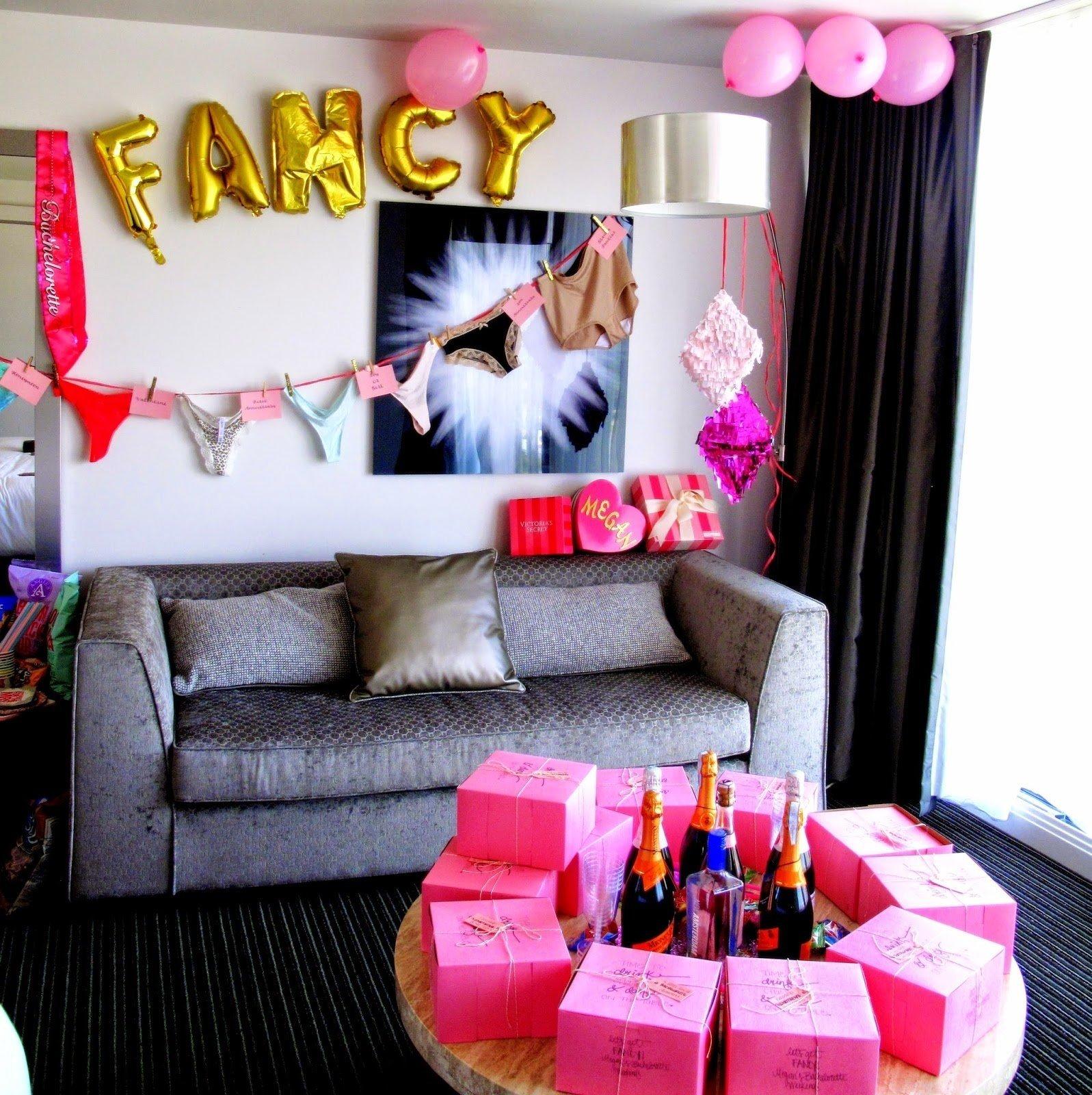 10 Unique At Home Bachelorette Party Ideas naughty bachelorette party decorations utrails home design 2021