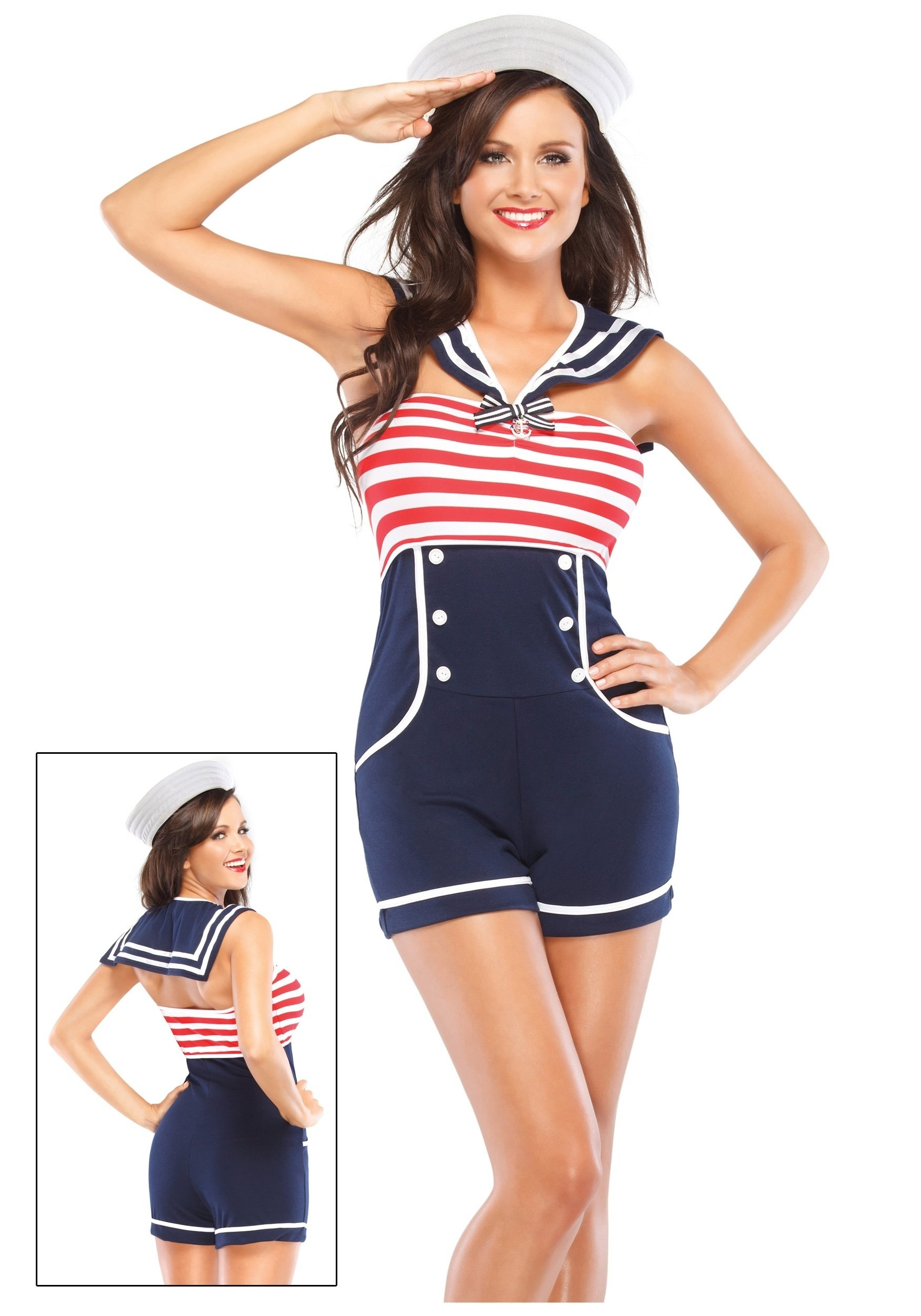 10 Nice Pin Up Girl Halloween Costume Ideas nautical pin up girl costume womens sexy sailor uniform costumes 2020