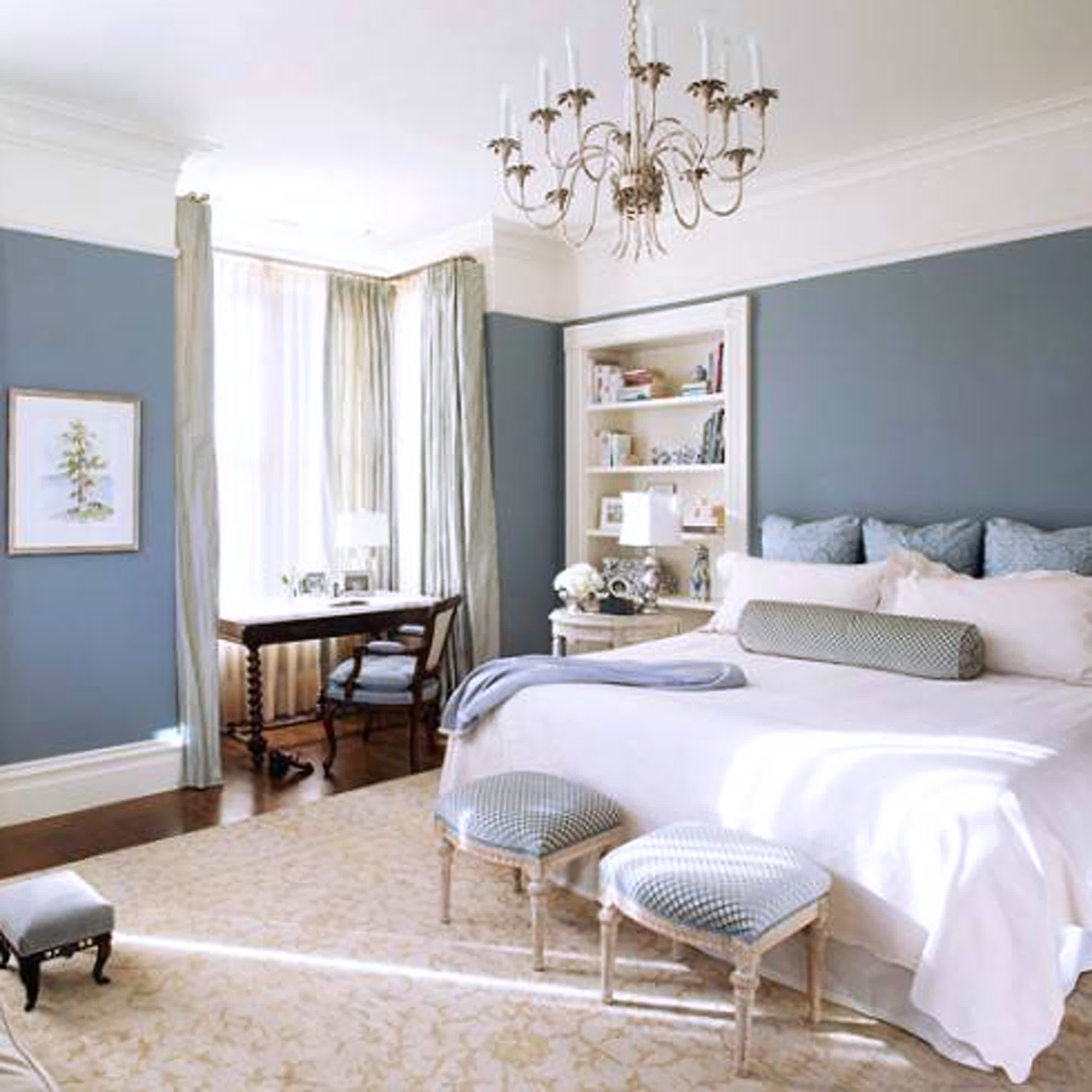 10 Stylish Blue And White Bedroom Ideas navy blue and white and gray bedroom e280a2 white bedroom ideas 2020