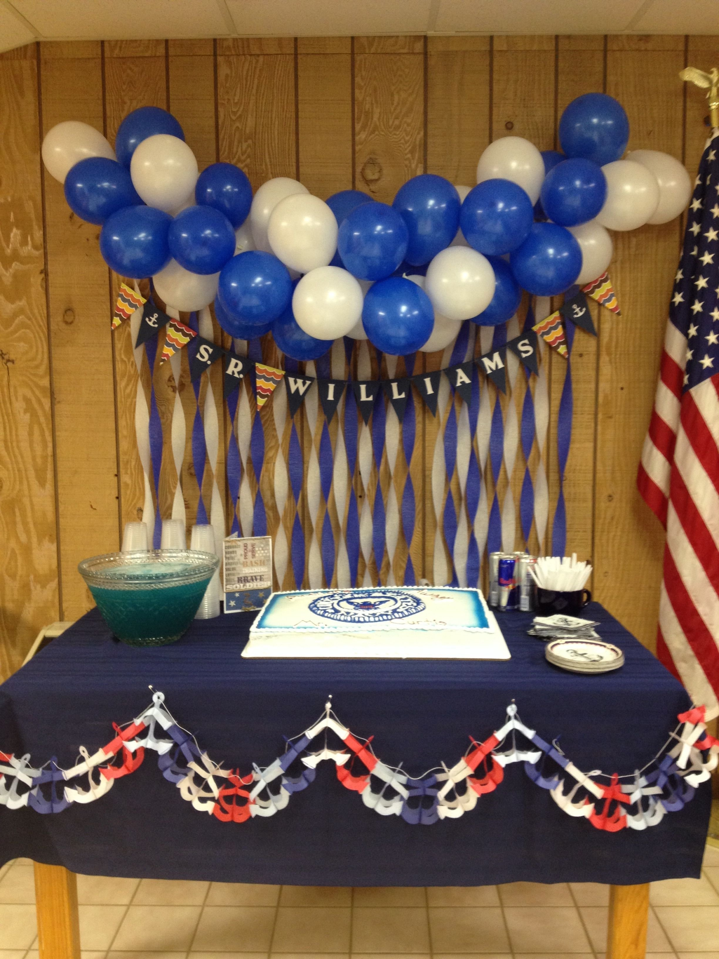 10 Most Recommended Going Away Party Ideas Military navy going away party decorations party ideas pinterest 2021