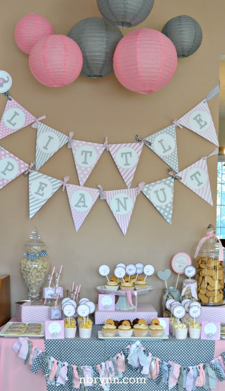 10 Pretty Ideas For A Baby Shower For A Girl nbrynn little peanut baby shower party ideas pinterest peanut 1 2021