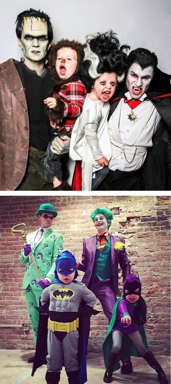 10 Perfect Family Costume Ideas For 6 neil patrick harris wins halloween with the cutest family costumes 6 2020
