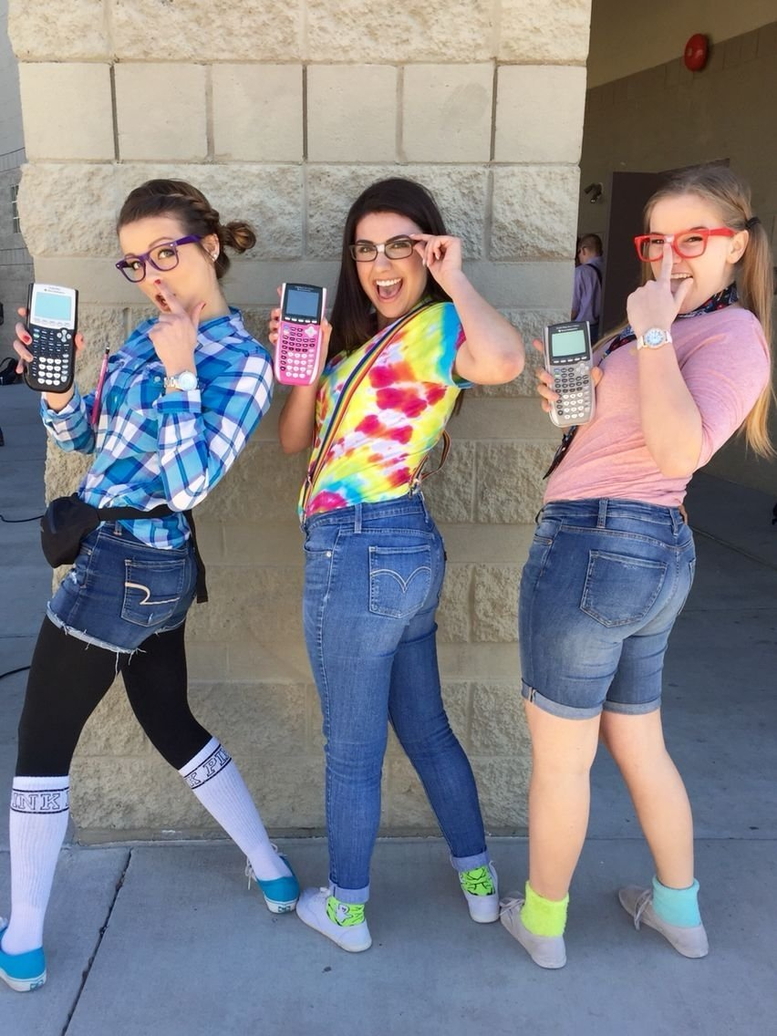 10 Lovable Cute Twin Day Ideas For Girls nerd day for spirit week lol lets be bestfriends pinterest 6 2020