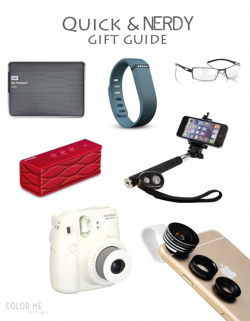 nerdy gift ideas for the nerds and techies - color me meg
