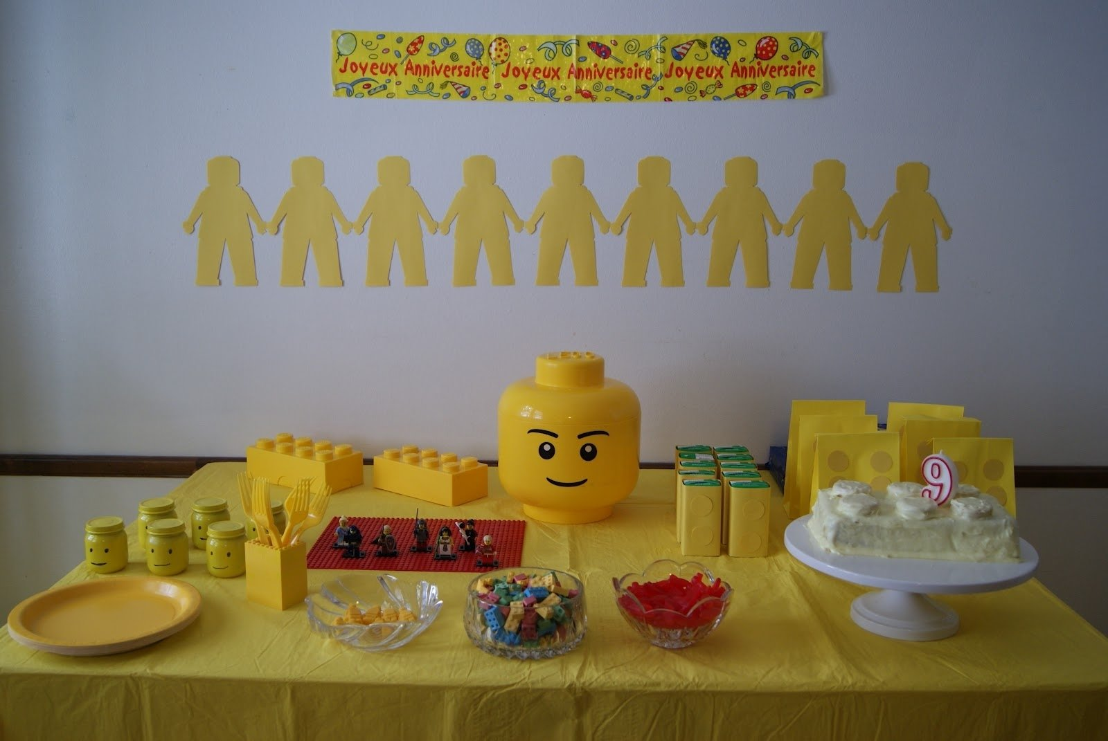 10 Most Recommended 1 Year Old Boy Birthday Party Ideas nest full of eggs yellow lego birthday 9 2020