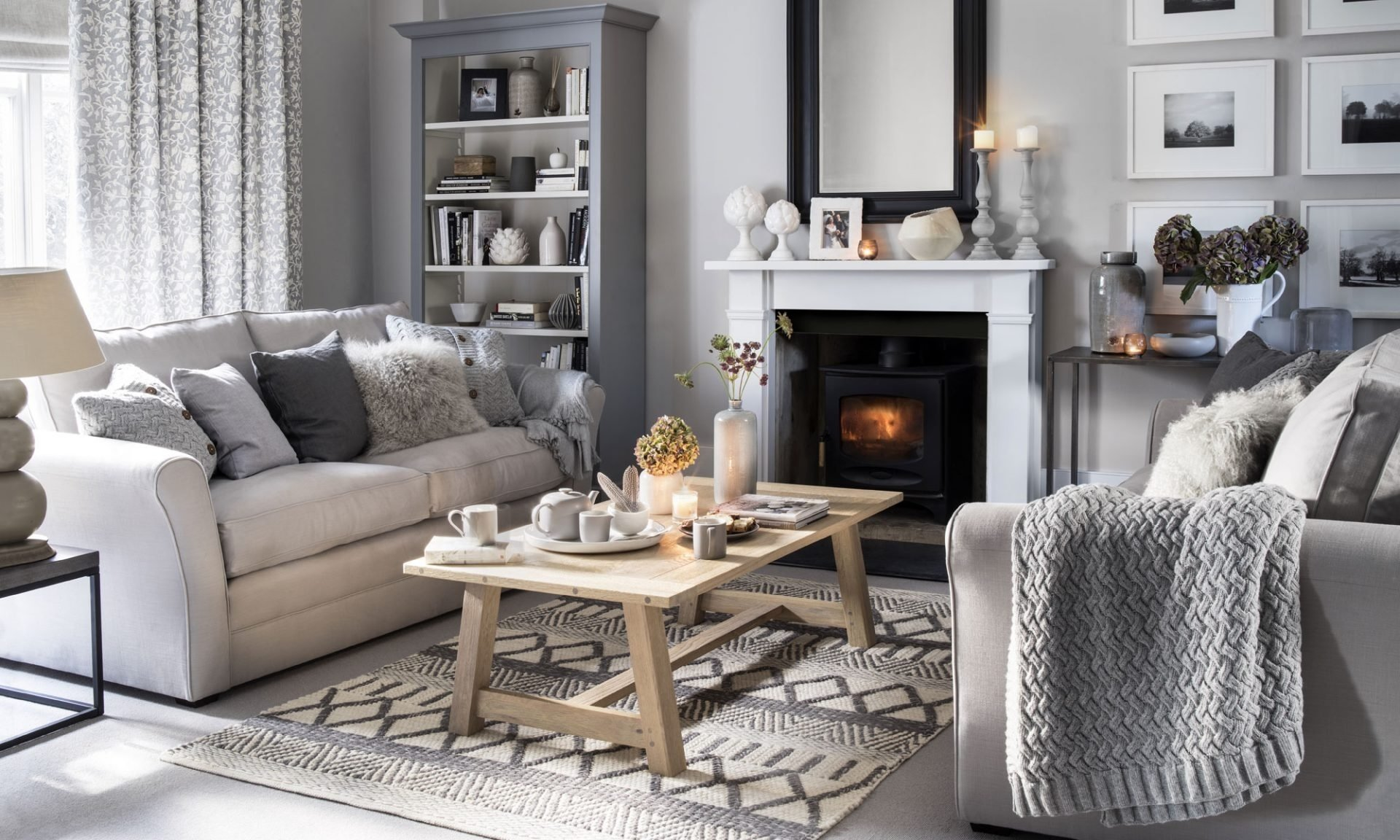 neutral living room ideas | ideal home