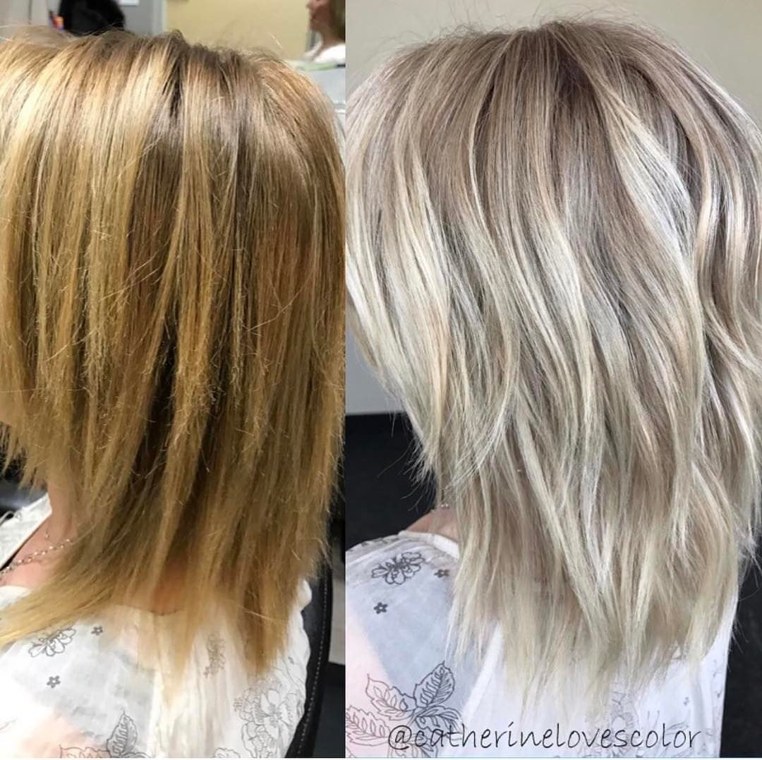 10 Attractive Hair Coloring Ideas For Blondes new ash hair razanflight 2020