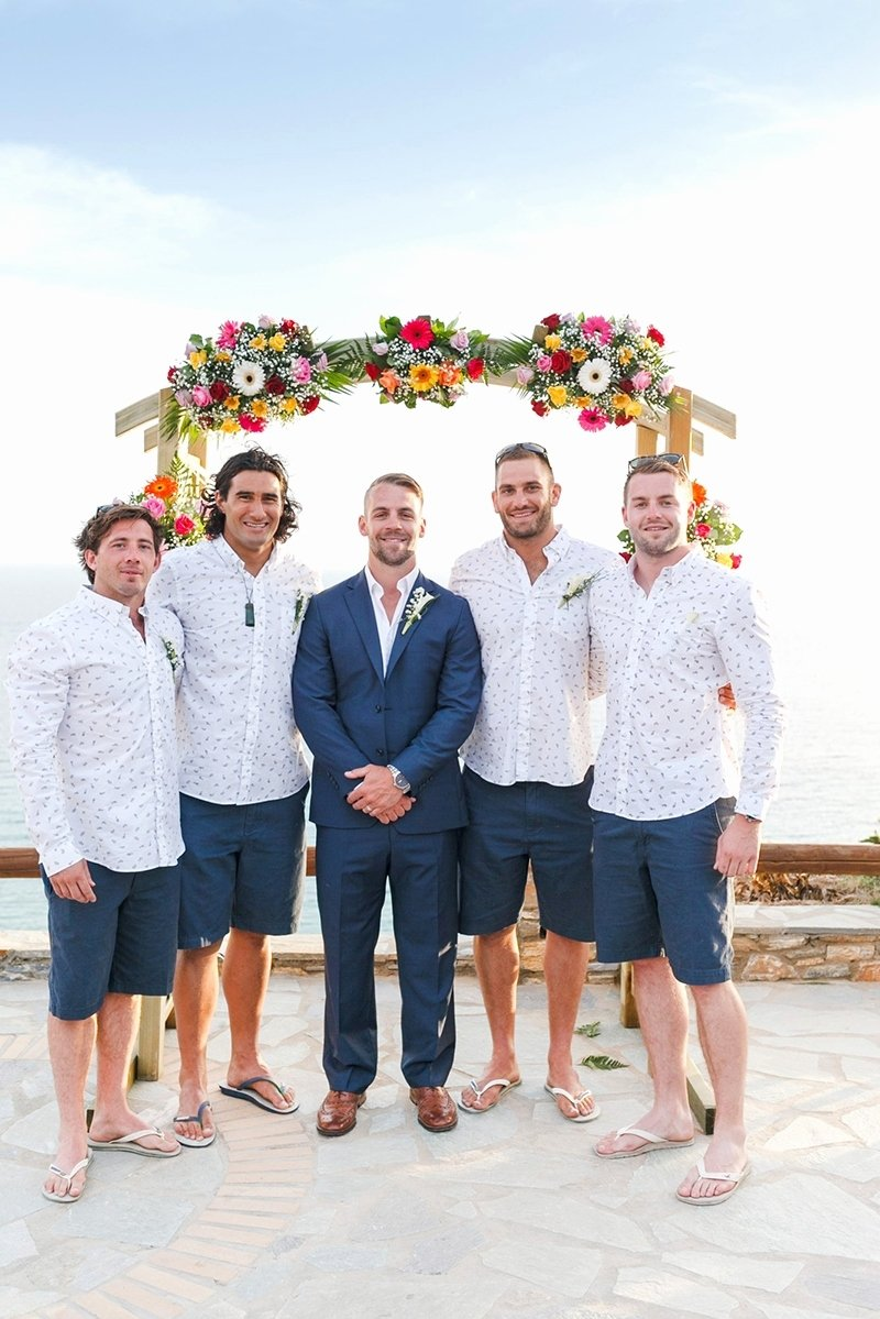 new beach wedding attire for male guests