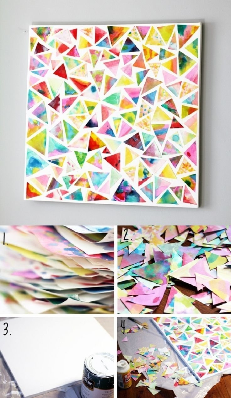 10 Fabulous Creative Ideas For A Project new cool art project ideas 1 19846 2020