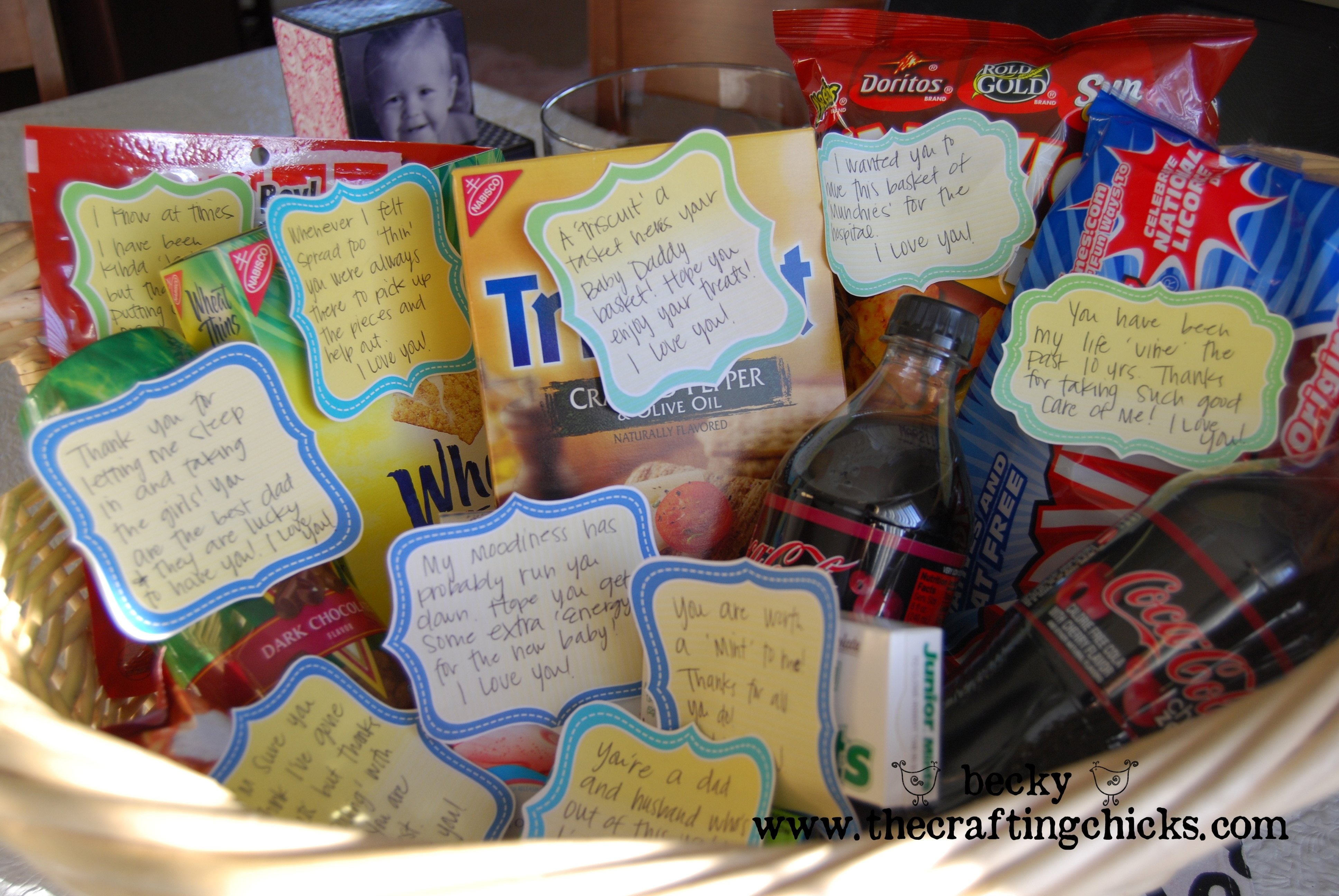 10 Gorgeous Gift Ideas For New Dads new daddy gift basket the crafting chicks 1 2021