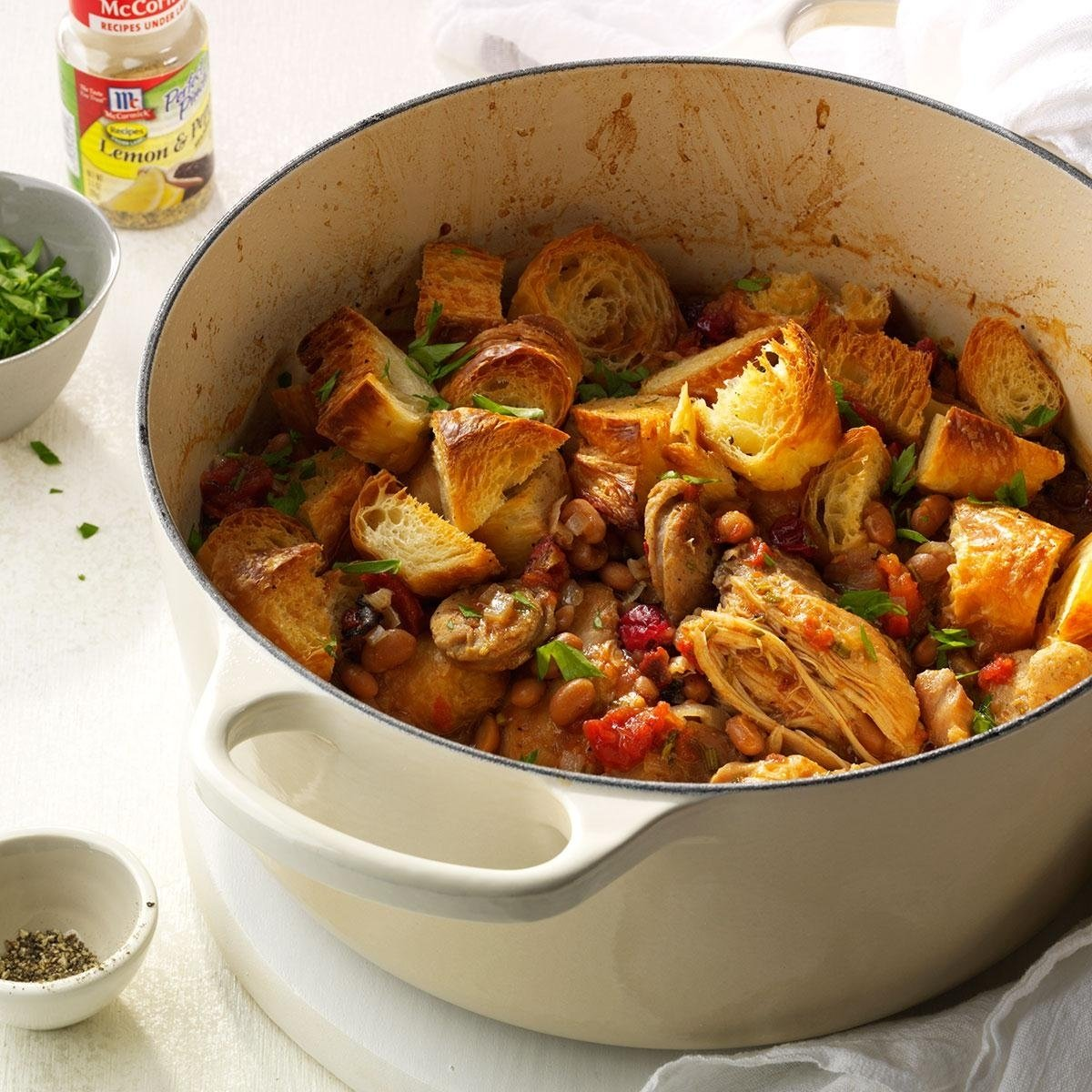 10 Trendy Simple Christmas Eve Dinner Ideas new england bean bog cassoulet recipe taste of home 2020