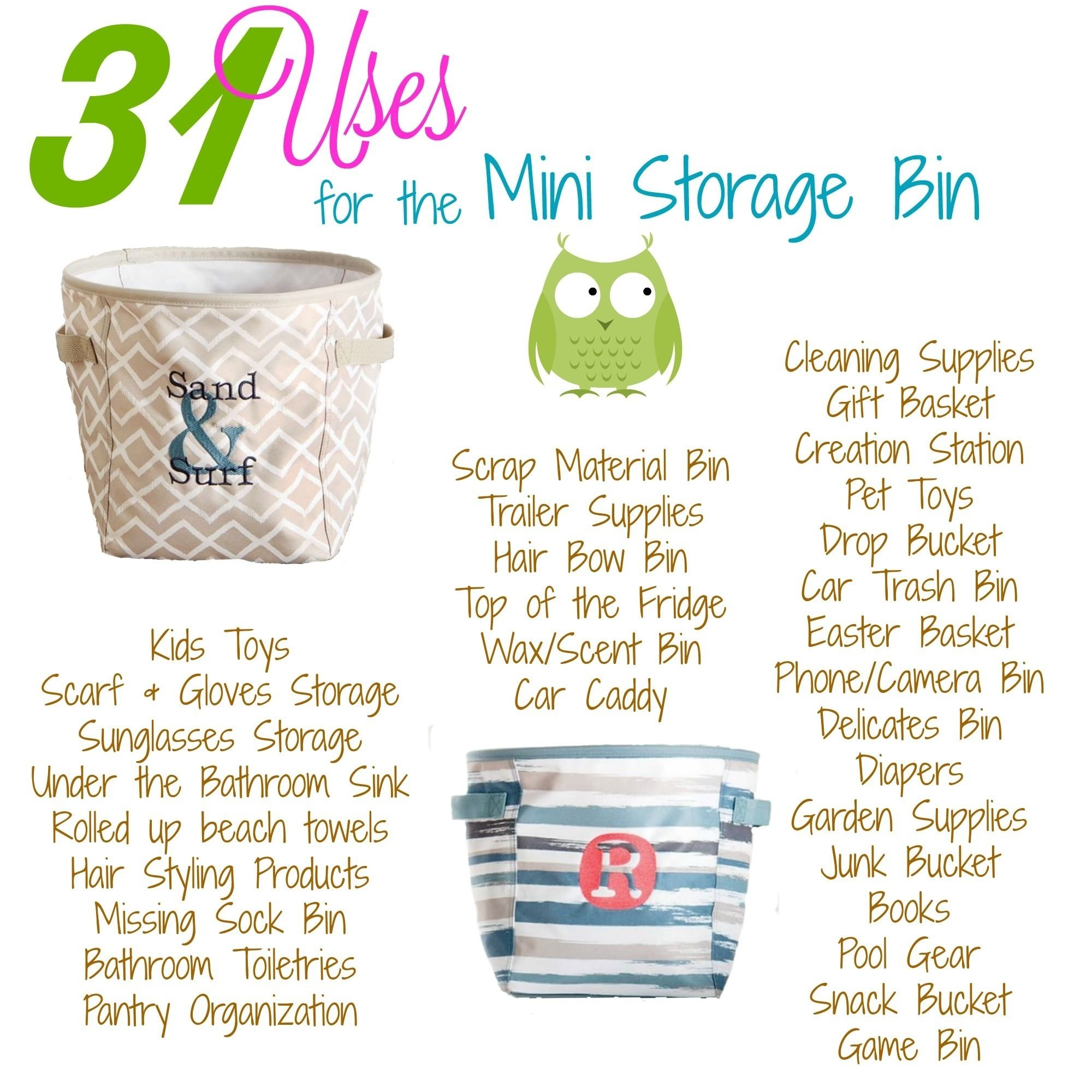 10 Pretty Embroidery Ideas For Thirty One Bags new for spring summer 2017 thirty ones uses for our mini storage 2020