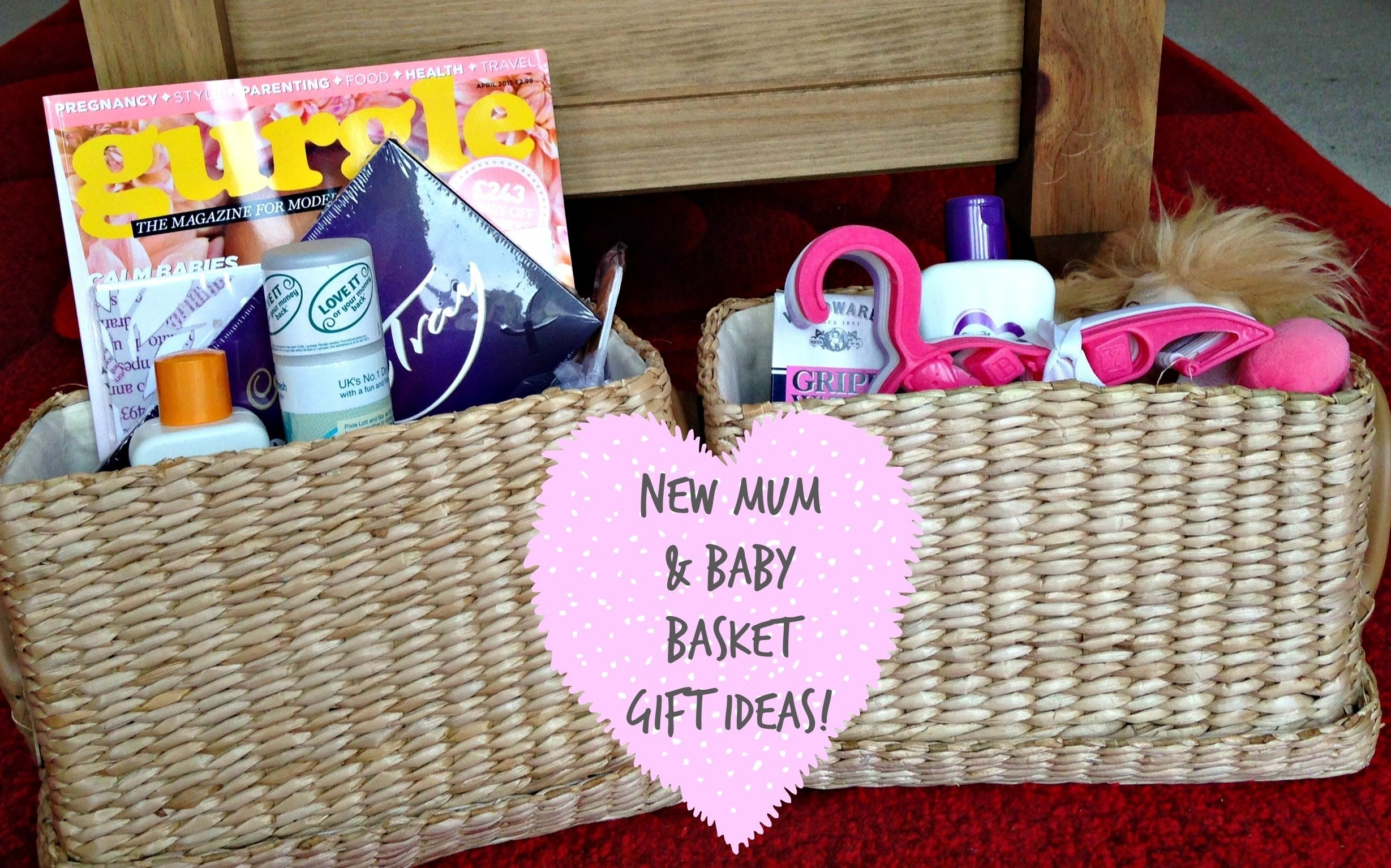 new mum & baby basket gift ideas! | kerry dyer - youtube