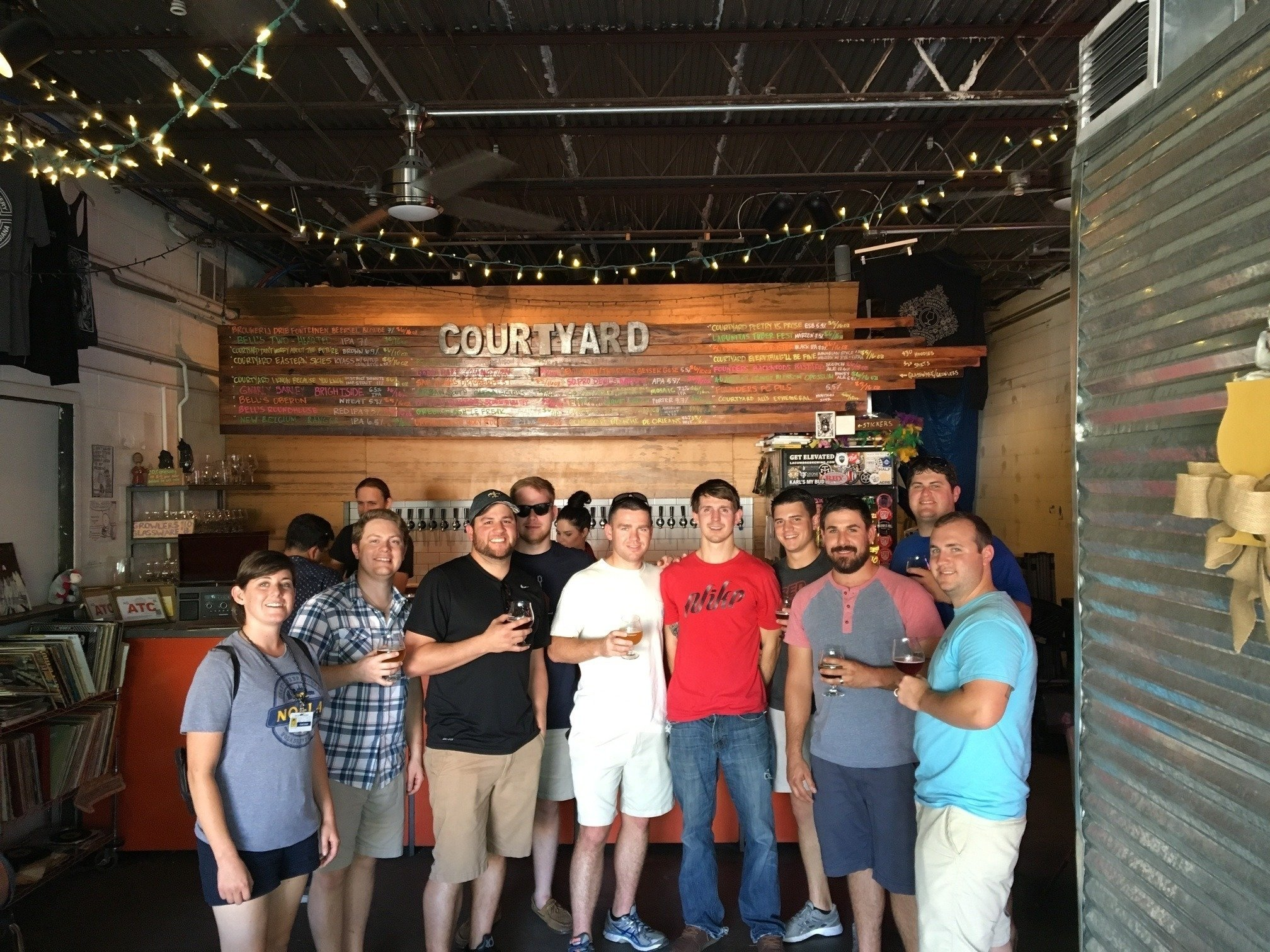 new orleans bachelor party planning with the nola brew bus
